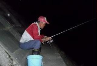 夜釣りの照明