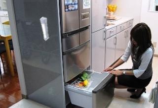 冷蔵庫に貼り付けて非常灯